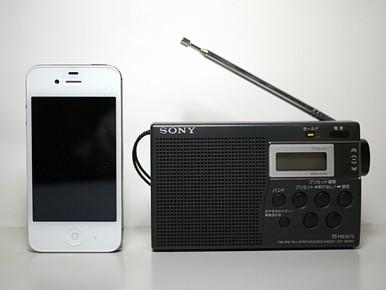iPhone 4S = コンパクト ラジオ