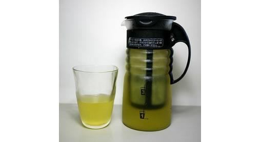 美味しい水出し煎茶がハリオのポットで簡単に作れます